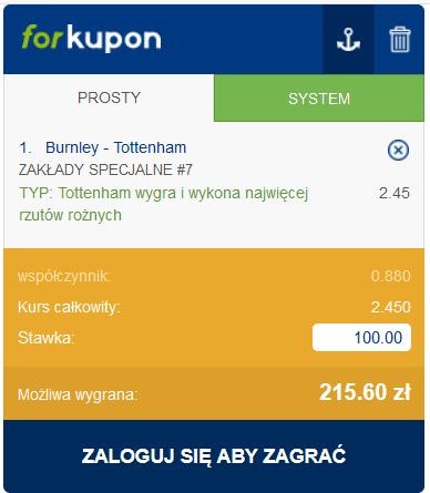 kupon PL 26.10 forbet