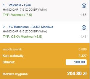 kupon double euroliga 01.10.2020