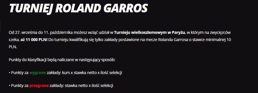 LV BET promocja Roland Garros 2020