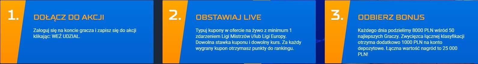 STS live kasa
