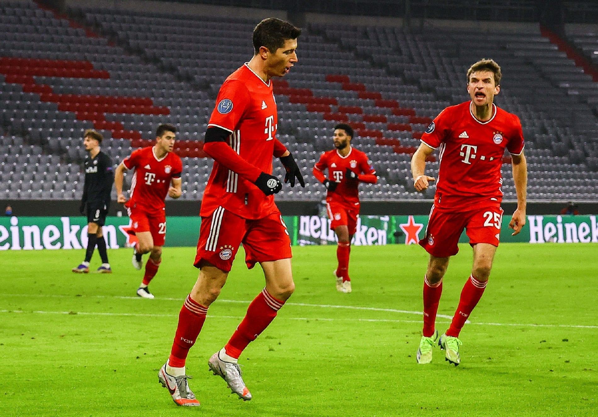 Lewandowski i Mueller Bayern
