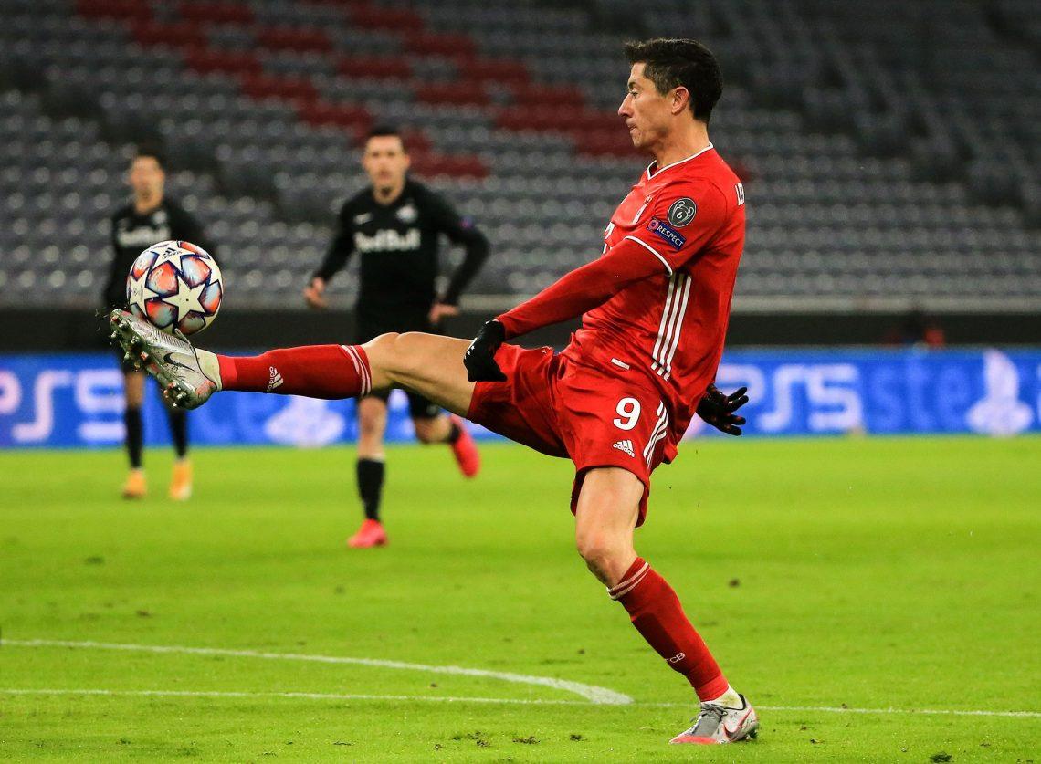 Lewandowski w barwach Bayernu