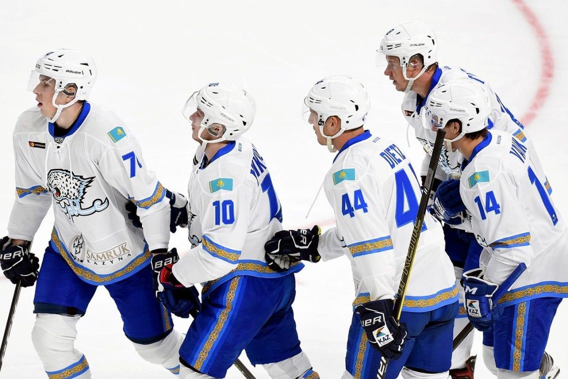 Mecz Barysa Nur-Sultan z Rygą KHL