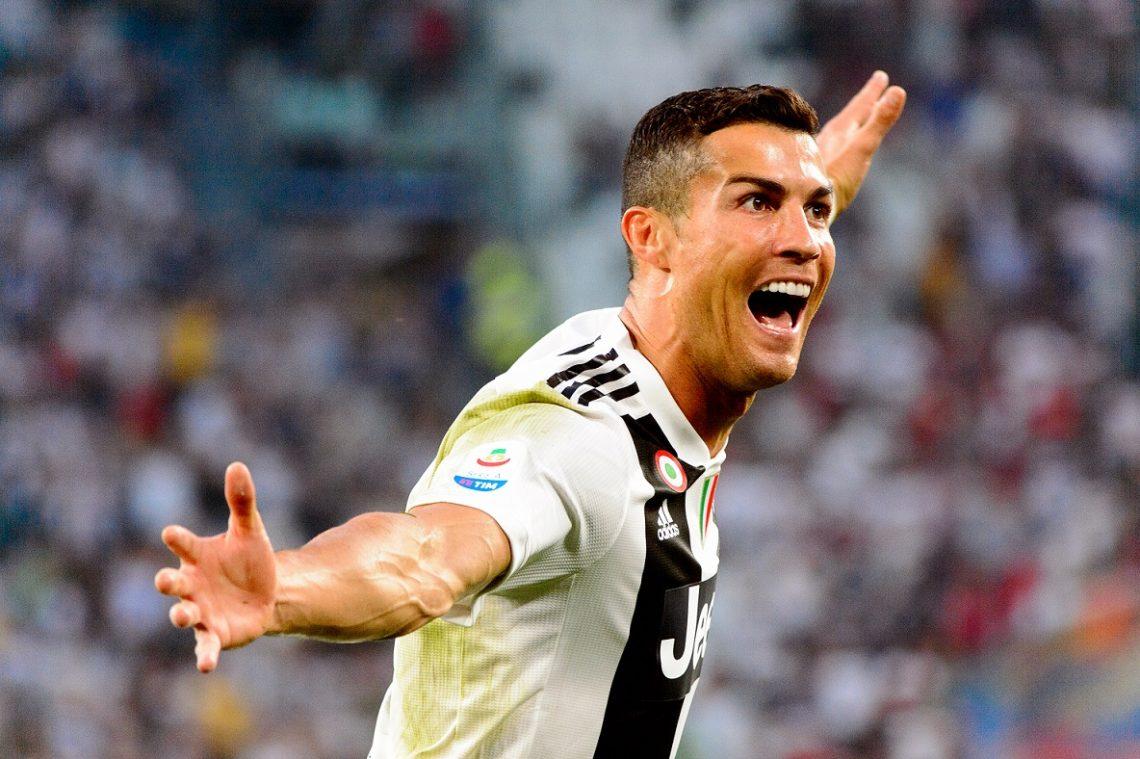 Radość gol Cristiano Ronaldo