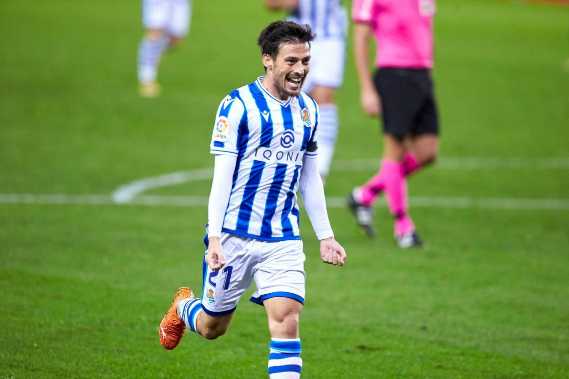 Radosny David Silva Real Sociedad