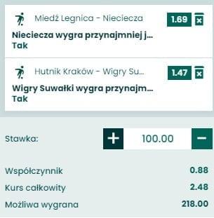 Fortuna 1. Liga - kupon - 15.11.2020