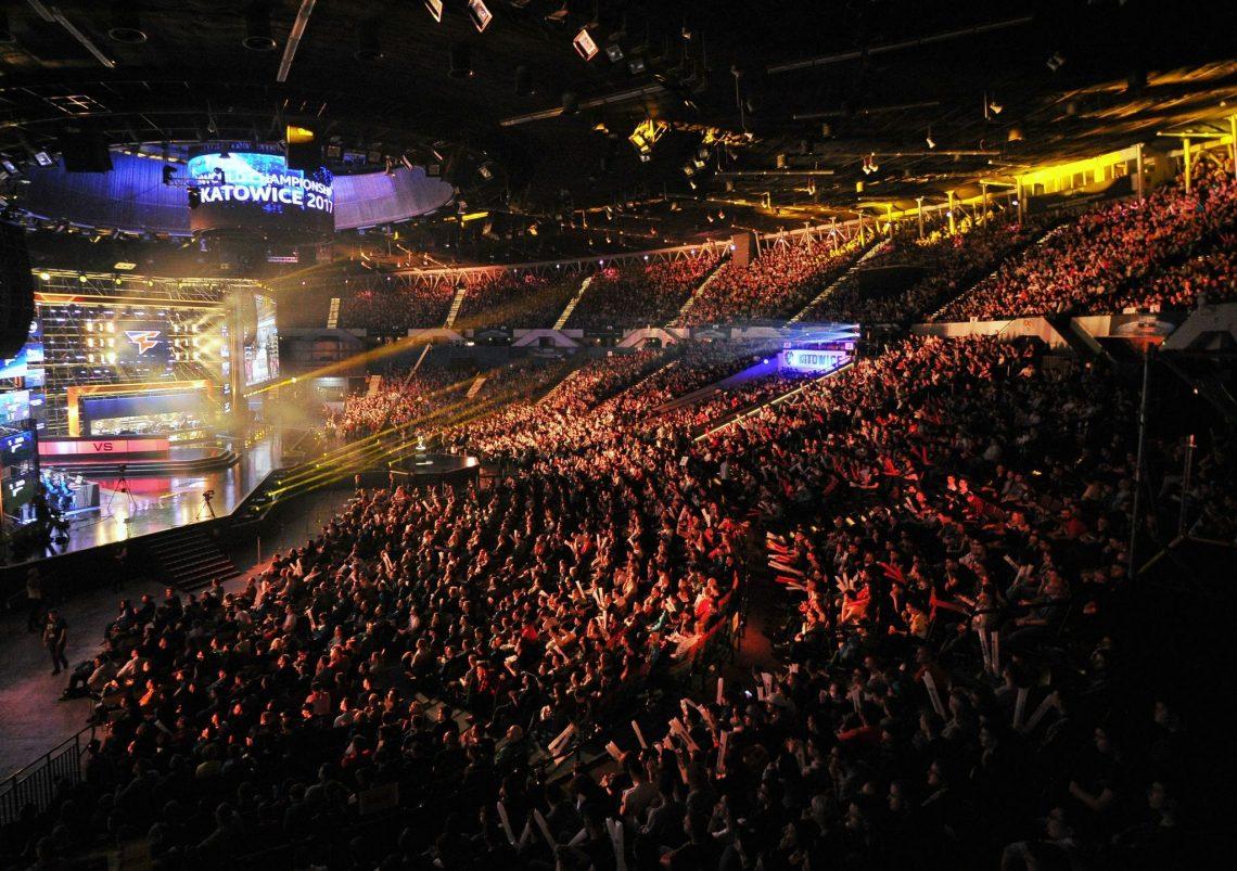 Wydarzenie esportowe arena
