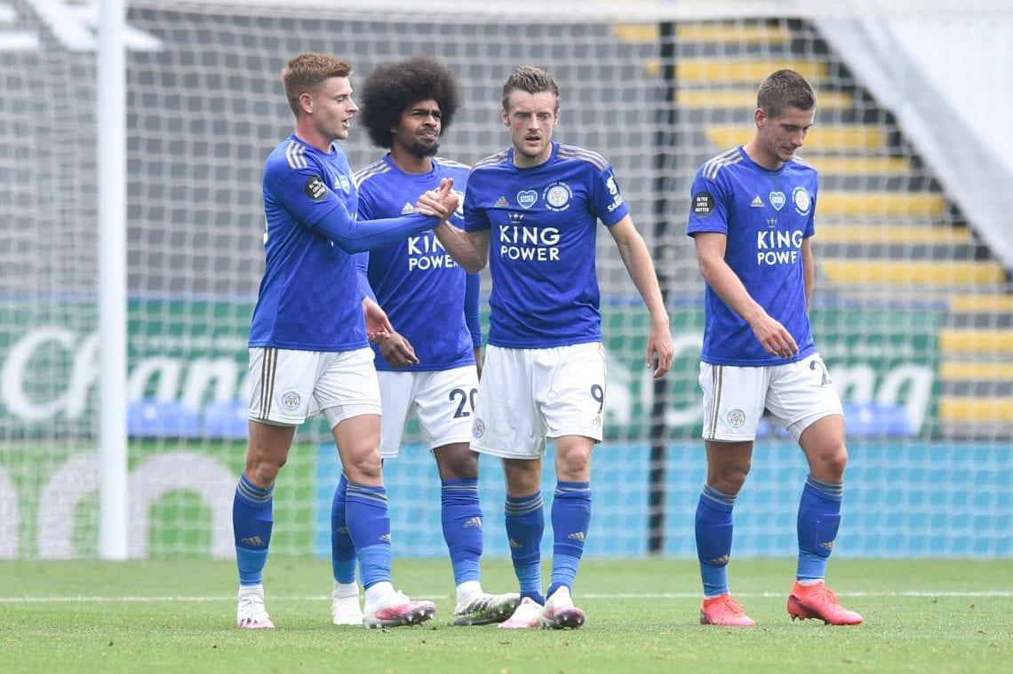 Leicester City 2020/21, gol Vardy'ego