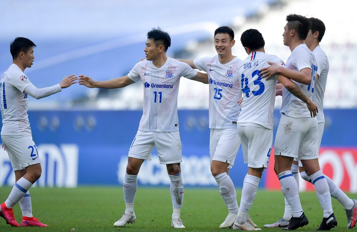 Zawodnicy Shaghai Shenhua
