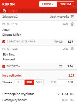 KHL Superbet na 13.11.