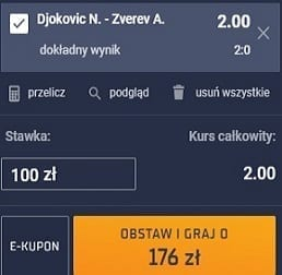 Tenis singiel 20.11.2020