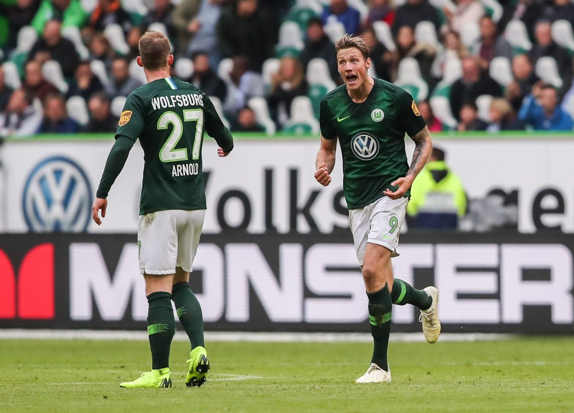 Zawodnik Wolfsburga Wout Weghorst