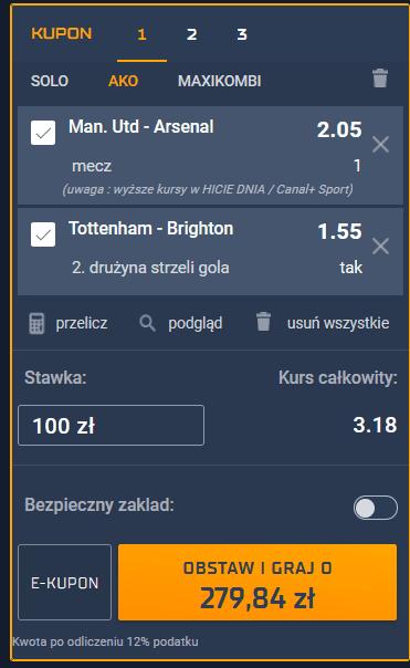 kupon Premier League sts 01.11