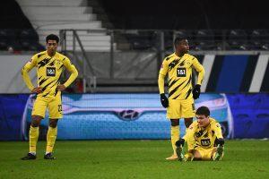 Trzej młodzi zawodnicy Borussii Dortmund