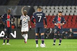 PSG vs Manchester United, LM 20/21