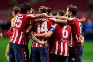 Zawodnicy Atlético