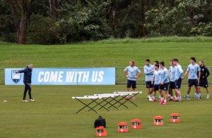 trening Sydney FC
