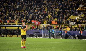 Erling Haaland i Borussia Dortmund kibice