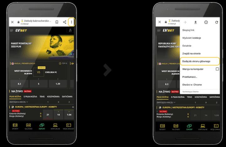 aplikacja lvbet