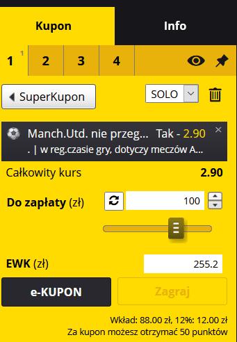 kupon fortuna FA Cup 24.01