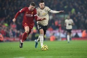 Liverpool vs Manchester United 20/21 - kupon 17.01
