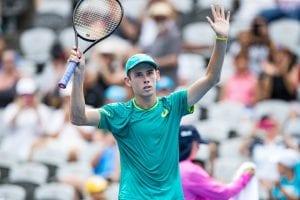 Alex de Minaur Australian Open