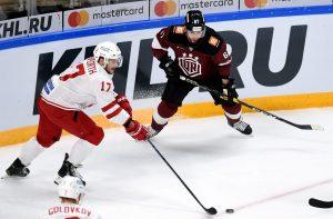 Justin Danforth KHL