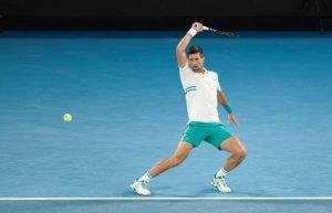 Novak Djokovic Australian Open 2021