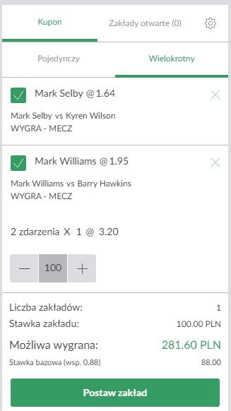 Mark Williams Mark Selby Kyren Wilson Barry Hawkins snooker dubel