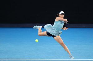 Iga Świątek podczas Australian Open 2021