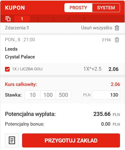 kupon PL - superbet 08.02