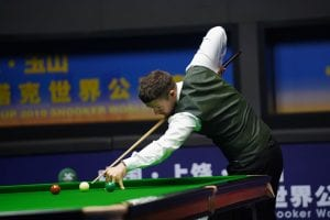 michael holt shoot-out snooker