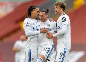 Leeds United 2020/21 - Harrison, Bamford i Philips po golu