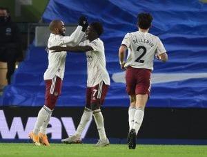 Arsenal F.C. po zdobytym golu sezon 2020/21 - kupon LE 18.02