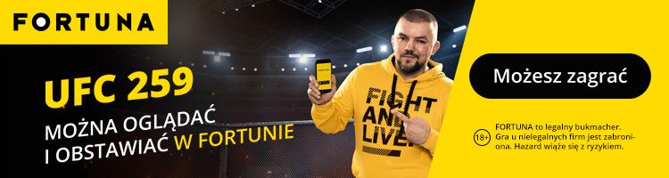 UFC Fortuna baner