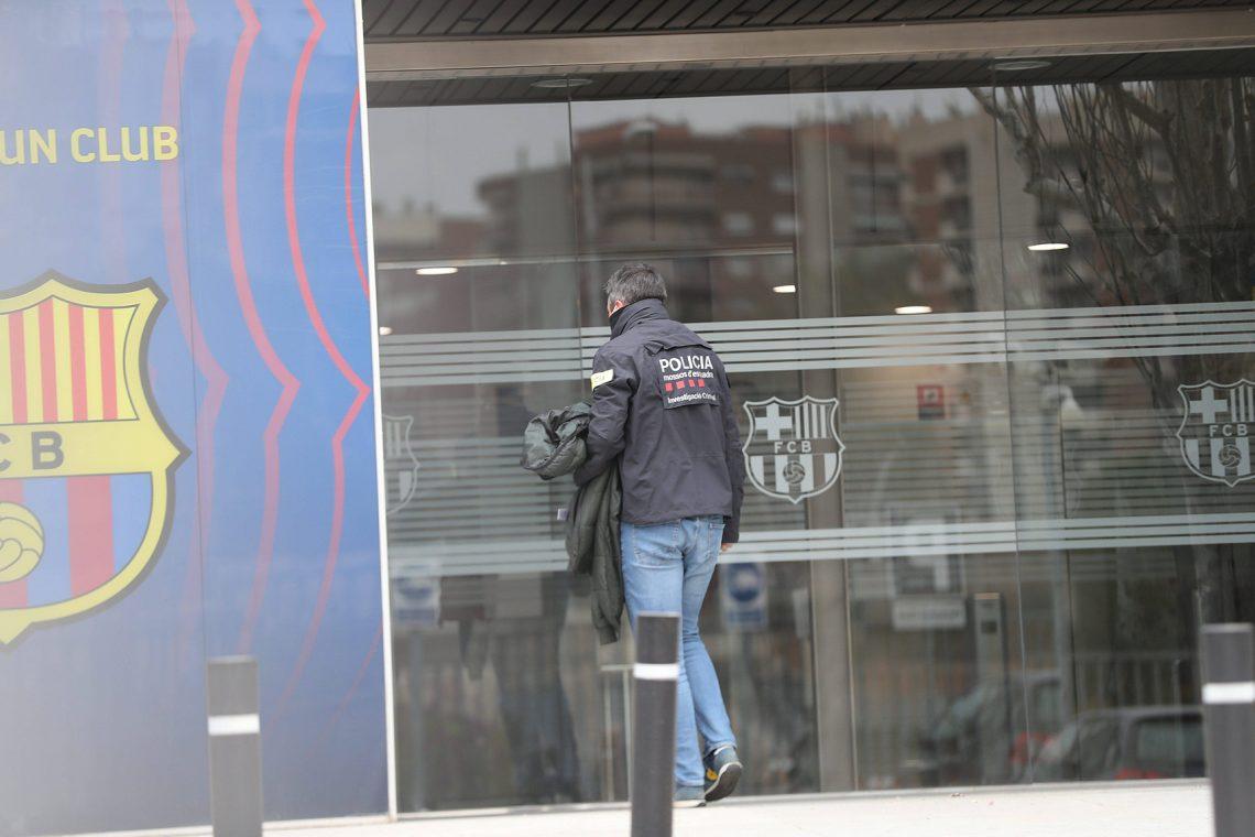 Policja Barcelona