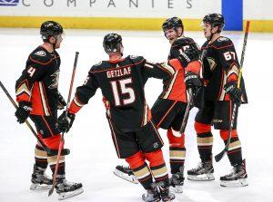 Hokeiści Anaheim Ducks NHL