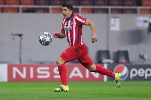 Suarez w barwach Atletico