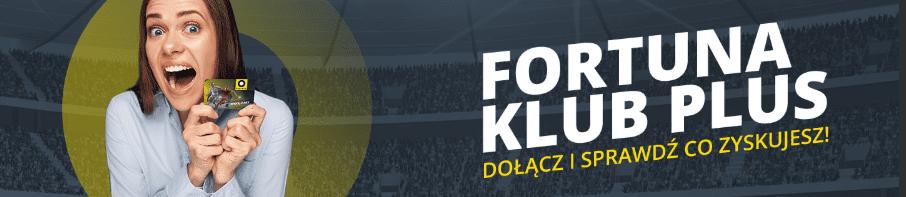 Fortuna Klub Plus - punkty FKP w Fortunie