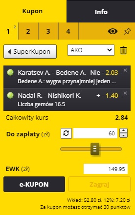 22.04 - tenis