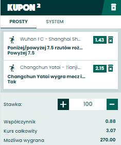 BETFAN Chiny na 29.04.