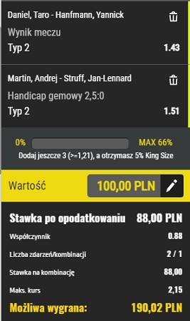 Dubel tenis 26.04.2021