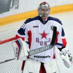 CSKA Moskwa bramkarz KHL