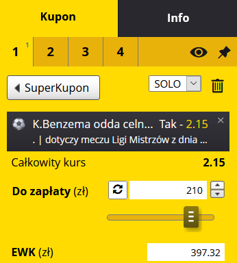 kupon LM 26.04 Fortuna