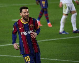 Leo Messi w Barcelonie