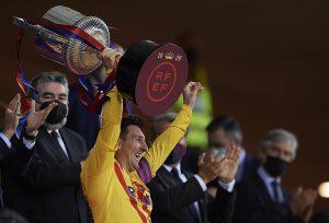Messi Barcelona puchar
