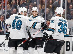 NHL zawodnicy Sharks
