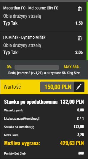 Piłka nożna Totolotek 24.04.