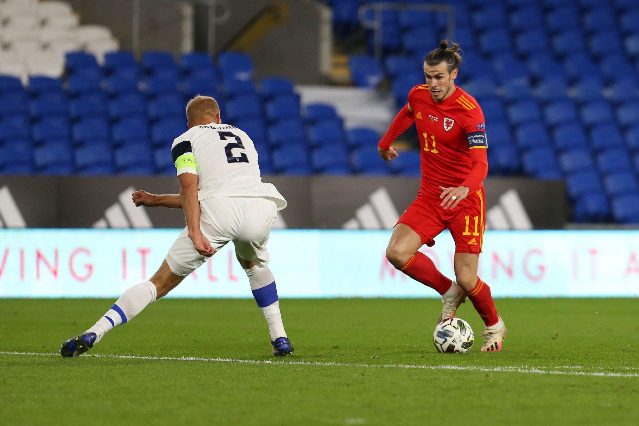Gareth Bale w reprezentacji Walii