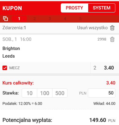 2 wersja - kupon PL 01.05 superbet